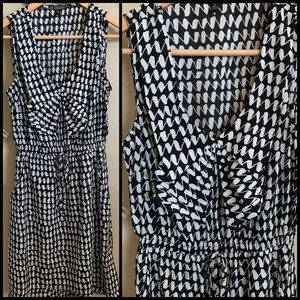 Black & White BeBop Dress